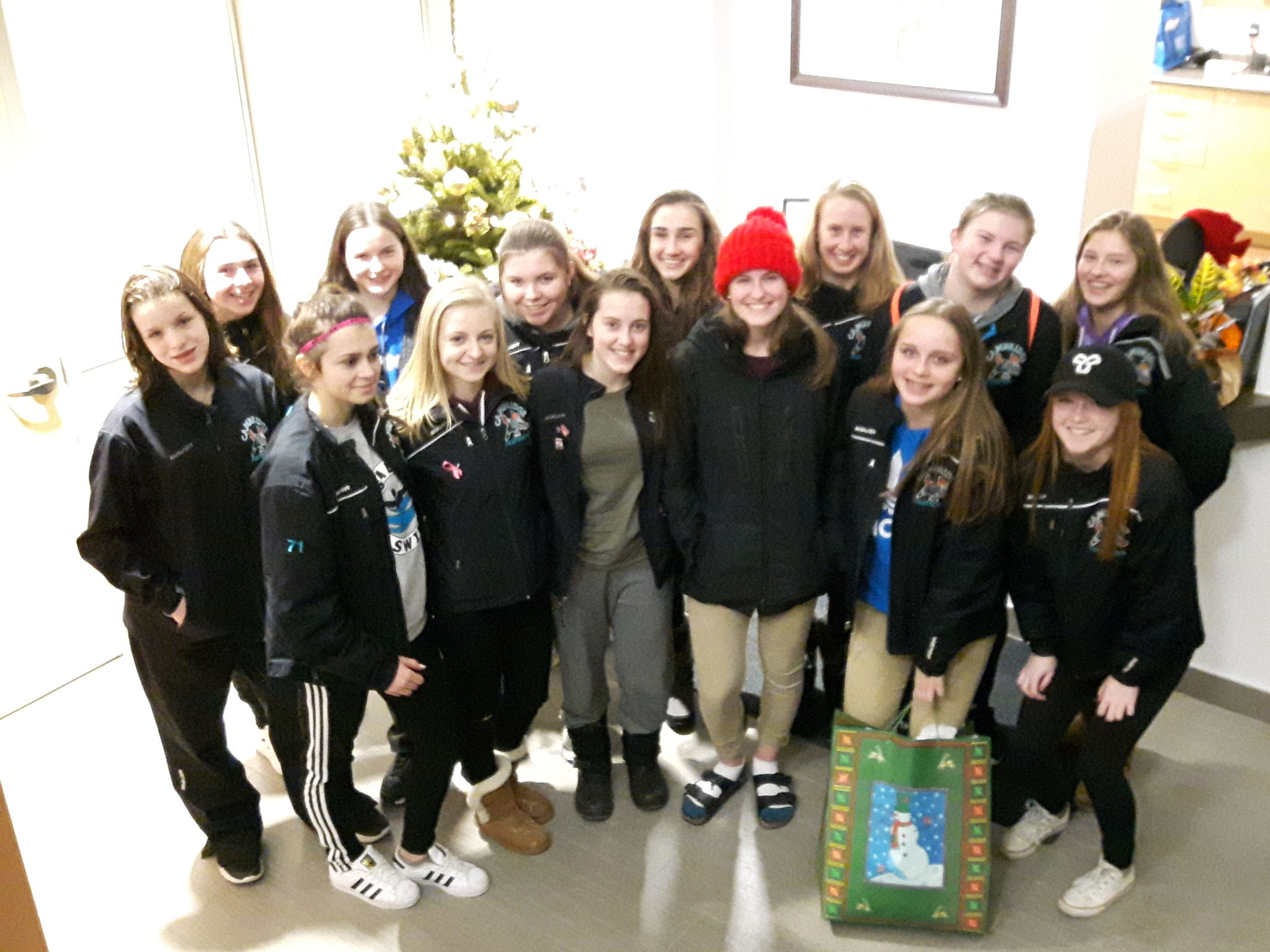 Roadrunners Visit Haven House