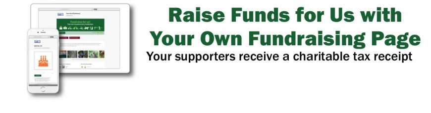 Fundraise for Us with Your Own Fundraising Page