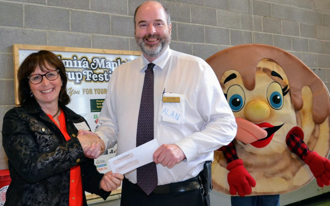 Thanks, Elmira Maple Syrup Festival, for Your Support