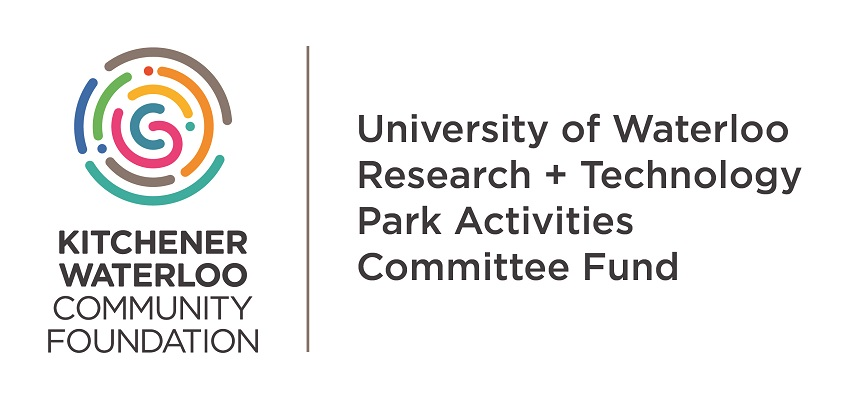 Thanks, KWCF University of Waterloo Research + Technology Park Activities Committee Fund