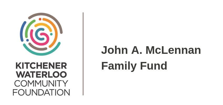 Thanks, KWCF John A. McLennan Family Fund